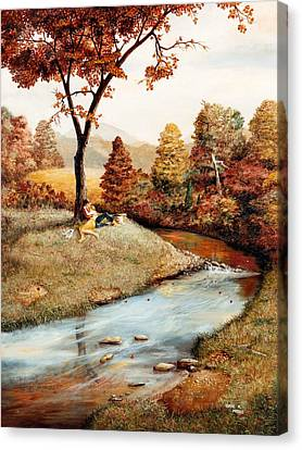 Our Secret Place Canvas Print by Duane R Probus