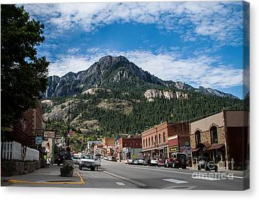Ouray Main Street Canvas Print