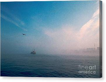 Out Morning At Sea  Canvas Print