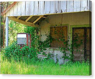 Out Of Business Canvas Print by Connie Fox