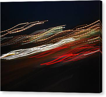 Canvas Print featuring the photograph Out Of Control by Maggy Marsh