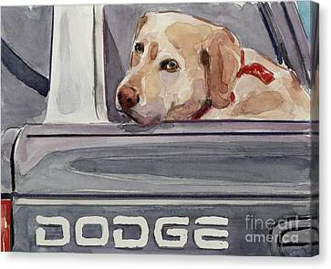 Out Of Dodge Canvas Print by Molly Poole