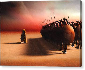 Out Of Egypt Canvas Print by Bob Orsillo