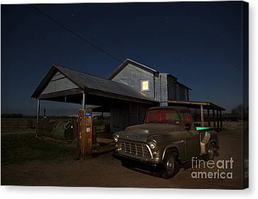 Out Of Gas Canvas Print by Keith Kapple