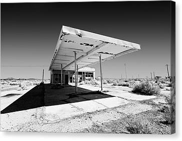 Out Of Gas Canvas Print by Peter Tellone