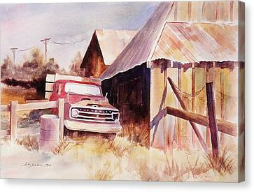 Out Of Service Canvas Print by John  Svenson