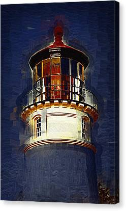 Out Of The Blue Canvas Print by Kirt Tisdale