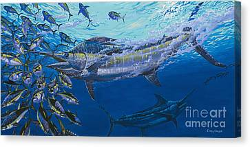 Out Of The Blue Off009 Canvas Print by Carey Chen