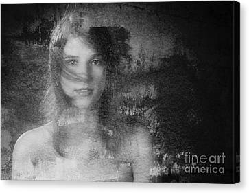 Out Of The Dark 3 Canvas Print by Kendree Miller