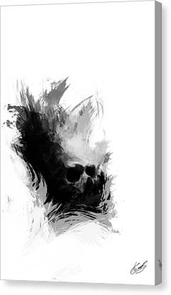 Out Of The Dark Canvas Print by Aj Collyer