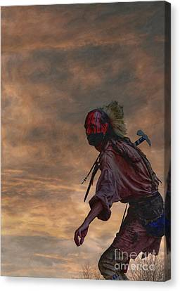 Out Of The Darkness Canvas Print by Randy Steele