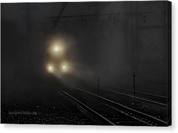 Out Of The Night #1 Canvas Print by Aleksander Rotner