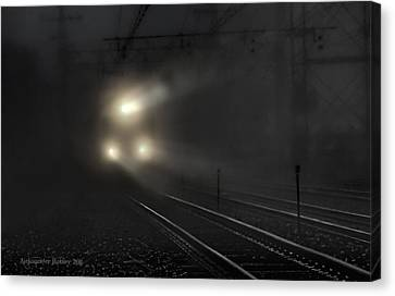 Out Of The Night #2 Canvas Print by Aleksander Rotner