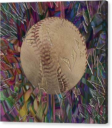 Out Of The Park Canvas Print by Jack Zulli