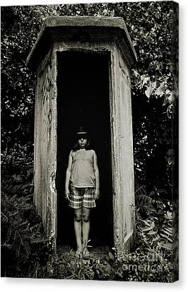 Out Of The Shadows Canvas Print by Mark Miller