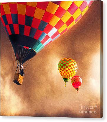 Out Of The Storm Canvas Print by Artist and Photographer Laura Wrede