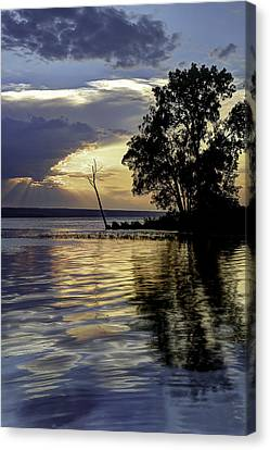 Keuka Canvas Print - Out On Point by Michele Steffey