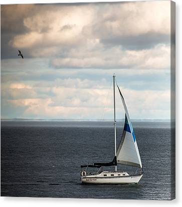 Out Running The Storm Canvas Print