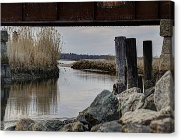 Out To The Bay Canvas Print