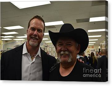 Out With Mark Mcgwire Canvas Print by Tommy Anderson
