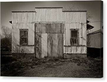 Outbuilding Canvas Print by Bud Simpson