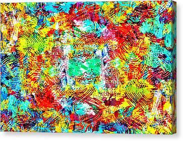 Outburst Canvas Print by Steven Llorca
