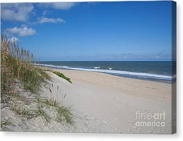 Outer Banks Beach  Canvas Print by Kay Pickens