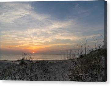 Outer Banks Sunrise Canvas Print by Gregg Southard