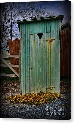 Outhouse - 6 Canvas Print by Paul Ward