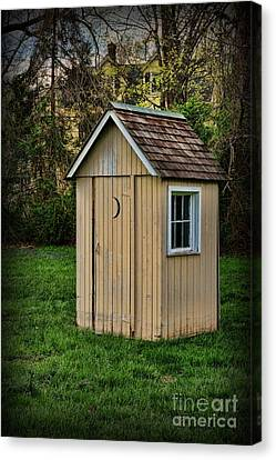 Outhouse - 8 Canvas Print by Paul Ward