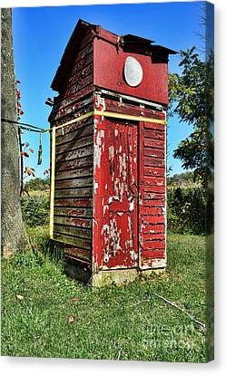 Outhouse 9 Canvas Print by Paul Ward