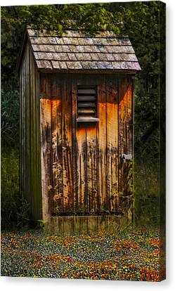 Outhouse Shack Canvas Print