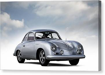 Classic Porsche 356 Canvas Print - Outlaw 356 by Douglas Pittman