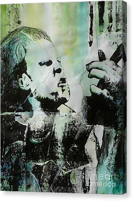 Outlaw Torn Canvas Print by Chad Rice
