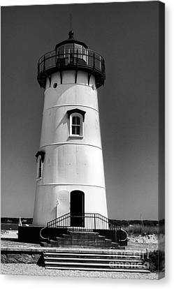 Outside Edgartown Lighthouse Canvas Print by Mark Miller