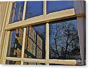 Canvas Print featuring the photograph Outside In by Geri Glavis