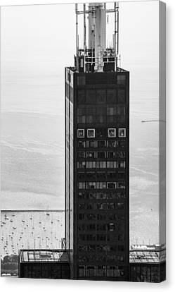 Outside Looking In - Willis Tower Chicago Canvas Print