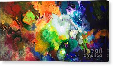 Outward Bound Canvas Print by Sally Trace