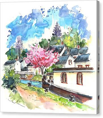 Ouzouer Sur Trezee 07 Canvas Print by Miki De Goodaboom
