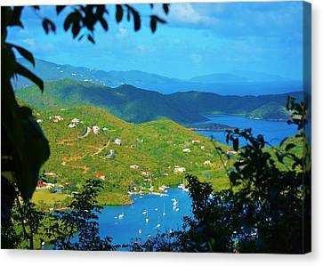 Over Coral Bay Canvas Print