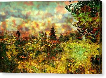 Over In The Meadow 1 Canvas Print by Shirley Sirois