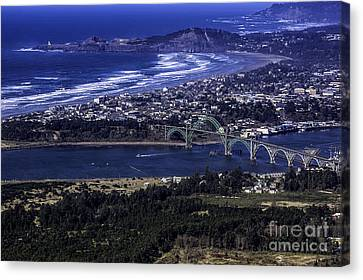 Over Newport Oregon Photograph By Kay Martin