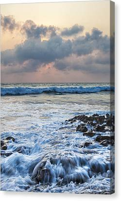 Over Rocks Canvas Print by Jon Glaser