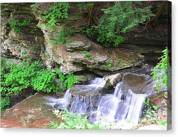 Over Rocks Canvas Print by Kathleen Struckle