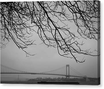 Over The Bridge Canvas Print by Richie Stewart