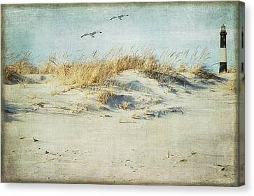 Over The Dune Canvas Print