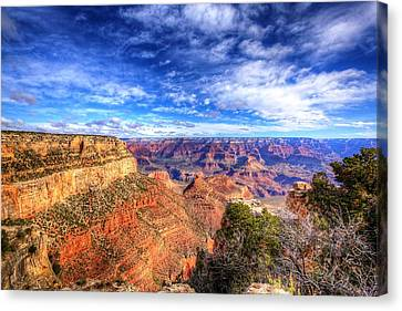 Over The Edge Canvas Print