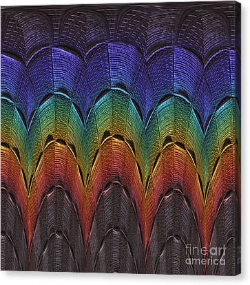 Over The Rainbow Dark Canvas Print
