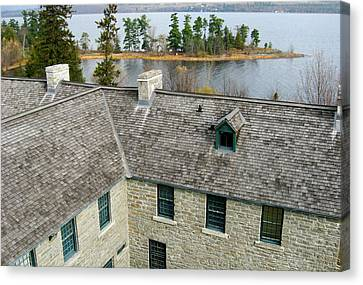 Over The Roof - Pinhey's Point Ontario Canvas Print by Rob Huntley