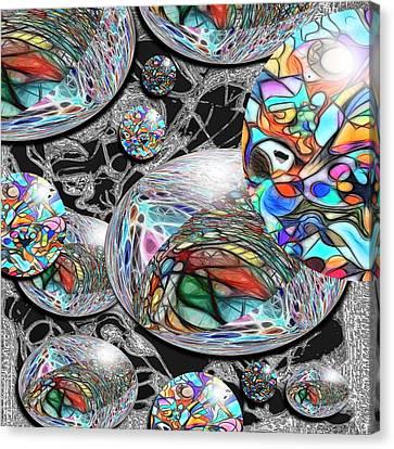 Overlap Series 1 Canvas Print by George Curington